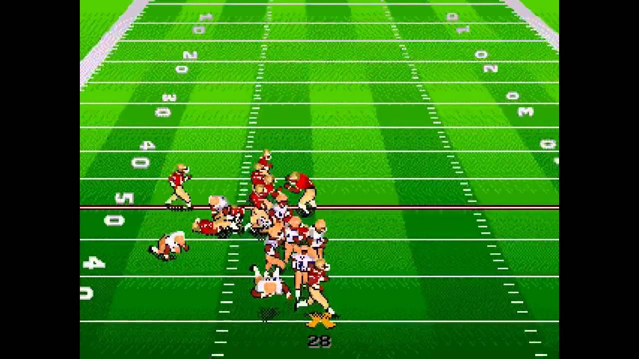 Bill Walsh College Football 95 Sega Genesis Youtube