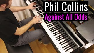 "Phil Collins - ""Against All Odds""/ Piano cover by Lucky Piano Bar (Eugene Alexeev)"
