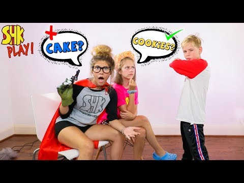 Charades Challenge! Guess What I Am Game | SuperHero Kids Challenges