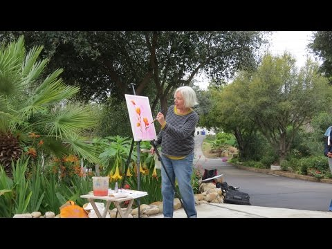Huntington Manor, Poway And San Diego Watercolor Society 2016