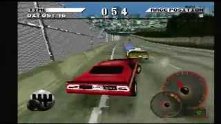 Test Drive 4 Gameplay Race 1