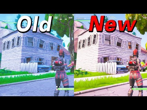 FORTNITE OLD Vs NEW COLORS // Patch 8.20