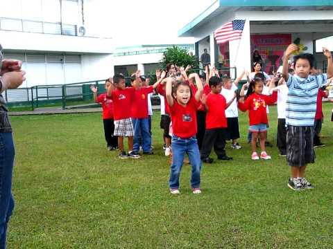 andie do you love me dance. Finegayan Elementary School Guam Is.