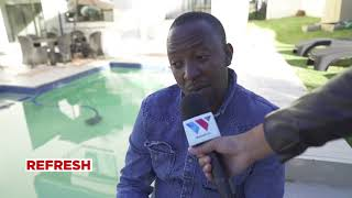 BABU TALE, Live kutoka South Africa kwa ZARI - Part2