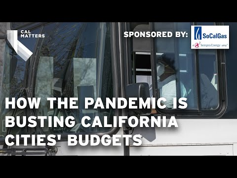 How the Pandemic is Busting California Cities' Budgets
