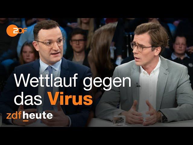 Wie gefährlich ist das Coronavirus? Spahn und Wimmer diskutieren bei Illner