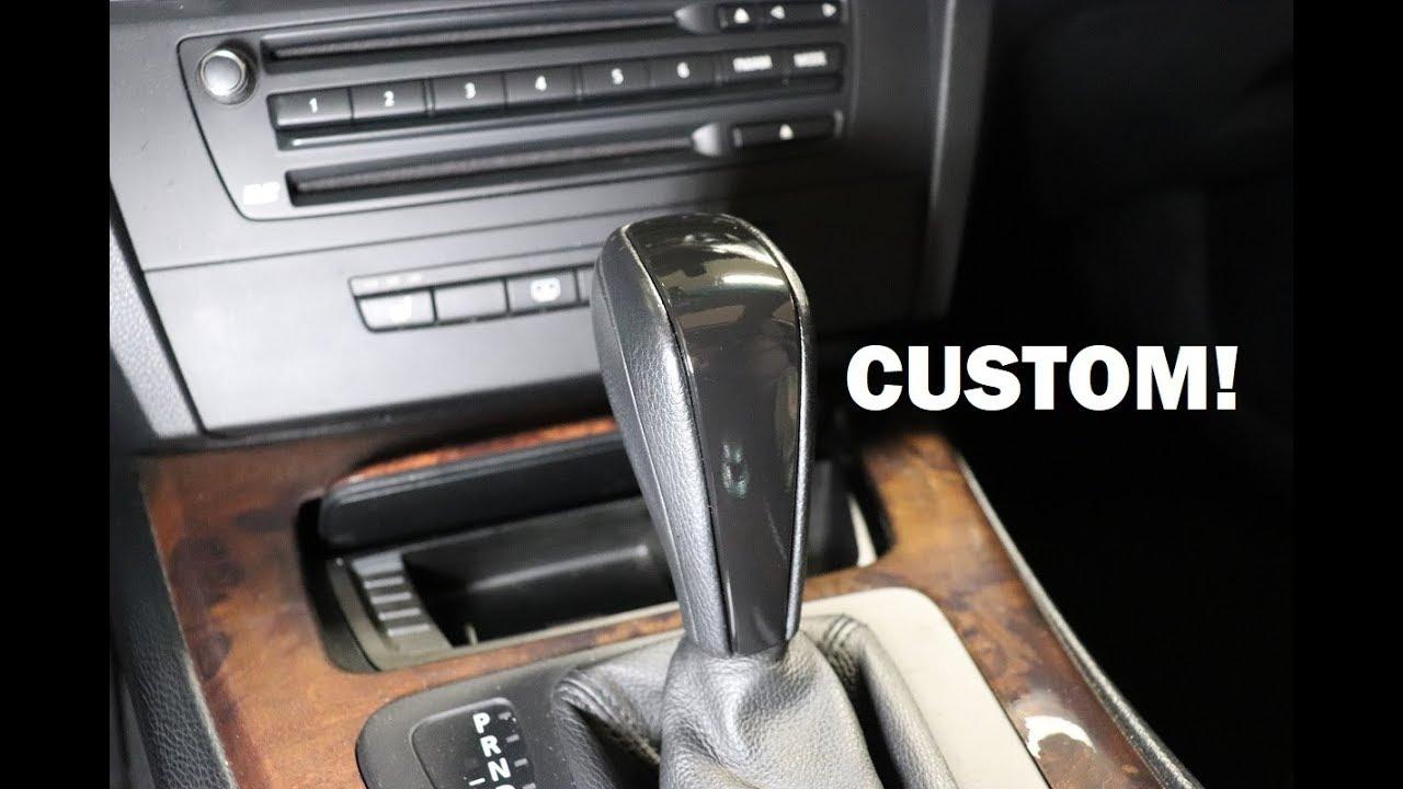 Bmw E90 Custom Wrapped Shifter Diy