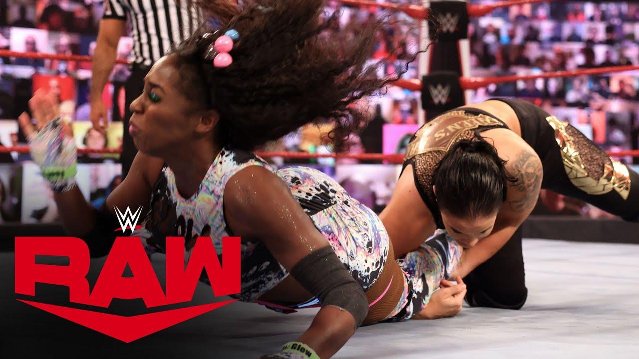 Naomi vs. Shayna Baszler: Raw, Feb. 8, 2021