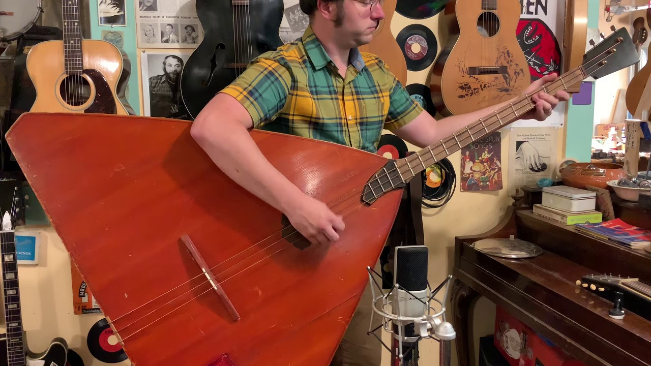 1964 Russian contrabass balalaika - YouTube