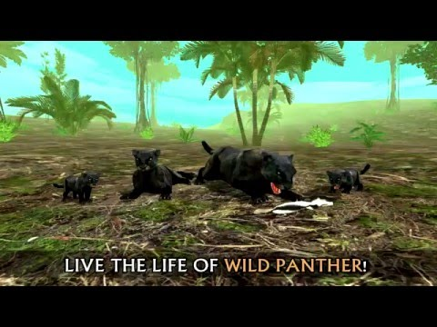 Wild panther sim 3d на андроид