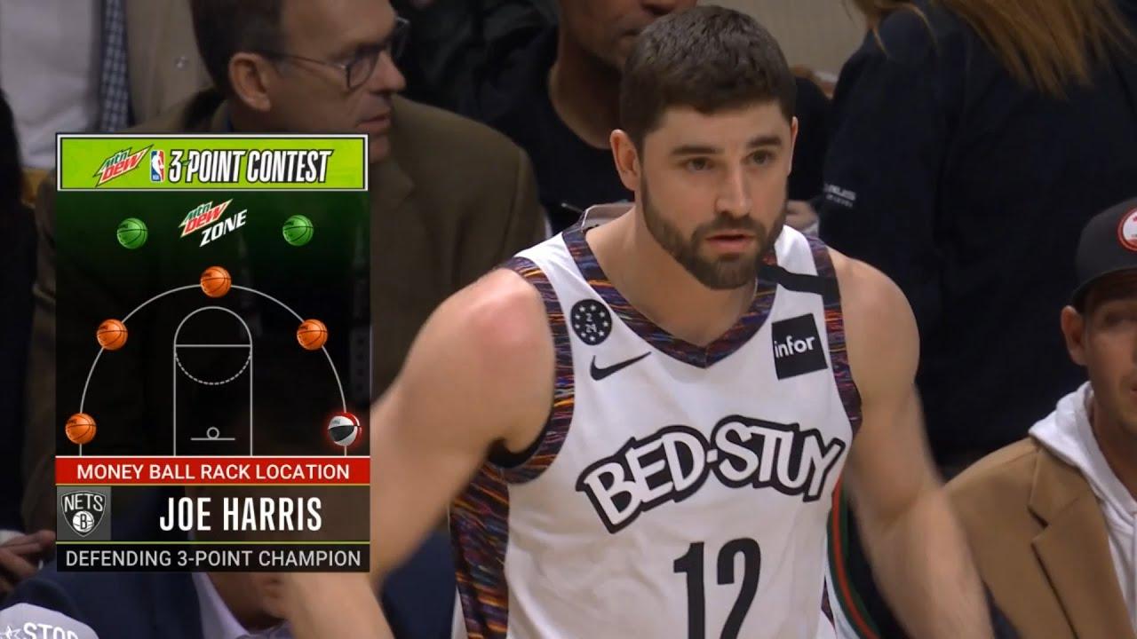 Joe Harris 1st Round   2020 NBA 3-Point Contest