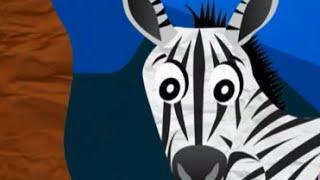 Детям о животных. Почему зебра полосатая? ПРОФЕССОР_КАРАПУЗ