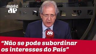 Não se pode subordinar os interesses do País ao berreiro das redes sociais | #AugustoNunes