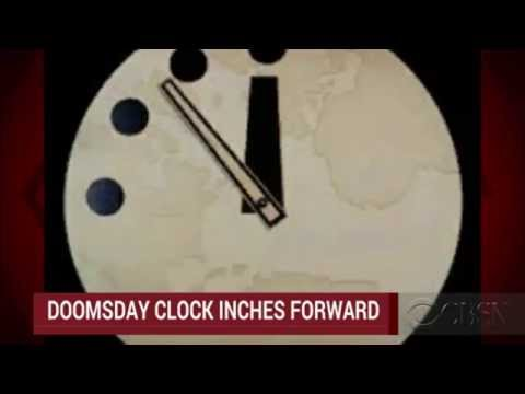 World War 3 : The Doomsday Clock ticks again moving 3 minutes till Midnight Jan 23, 2015