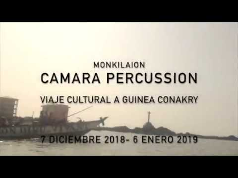 Guinea Conakry Culture and Arts voyage with Camara Paercussion and Monkilaion