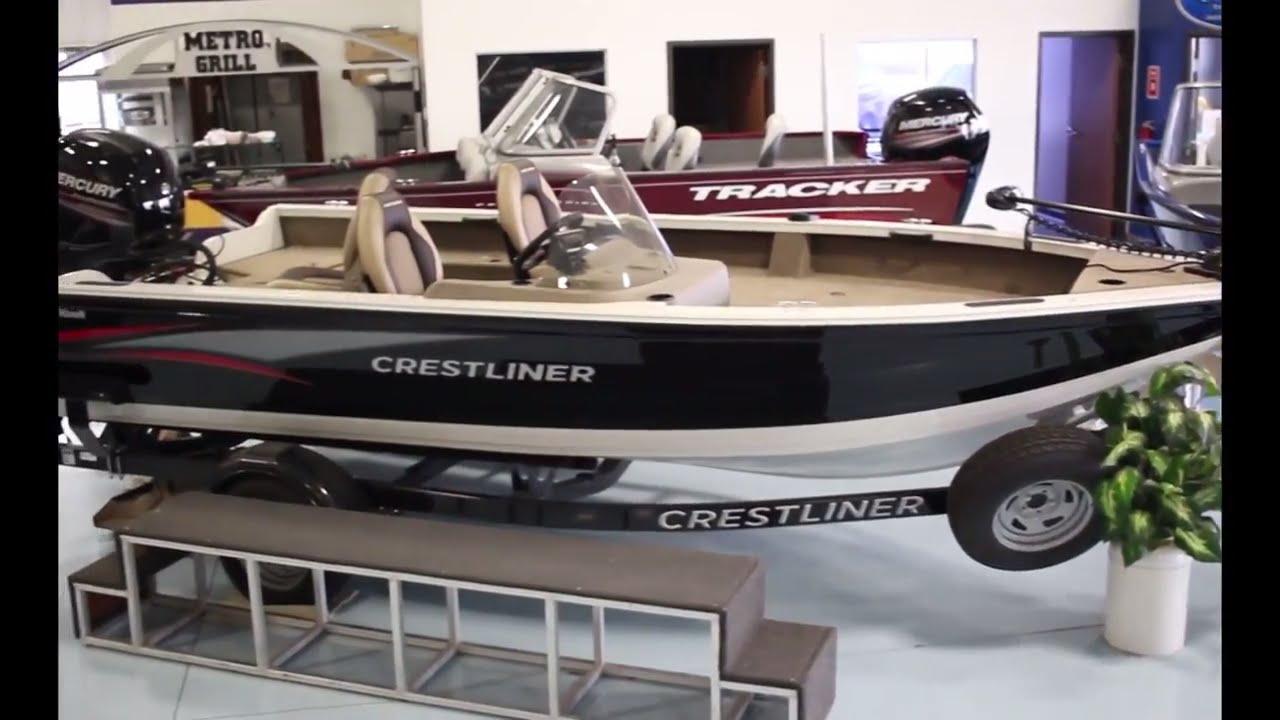 2016 crestliner fish hawk 1850 sc fishing boat for sale for Fishing boats for sale mn