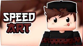 Speed Art #4 Pa mi :3 (Dibujo de Minecraft)