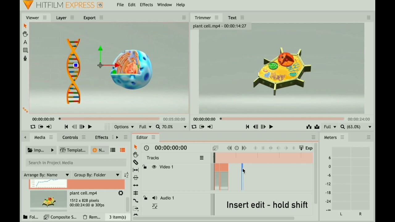 Hitfilm 2: Importing Media & Editing Tools