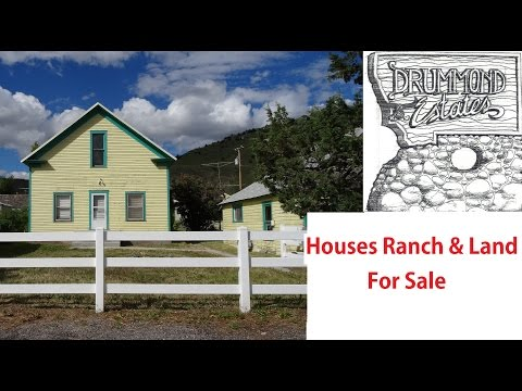 My Montana Ranch Land Houses for Sale Missoula Bitterroot Valley Travel Video