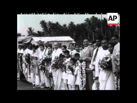 THE LATE PRIME MINISTER OF CEYLON