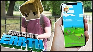 I got to play MINECRAFT EARTH (early)