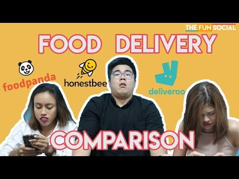 TFS FOOD DELIVERY COMPARISON - Deliveroo, Honestbee, and FoodPanda!