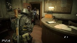 Resident Evil 2 Remake: Hunk 4th Survivor No Damage Gameplay (PS4 PRO)
