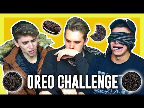 OREO CHALLENGE! with TheSikrt & LayZ