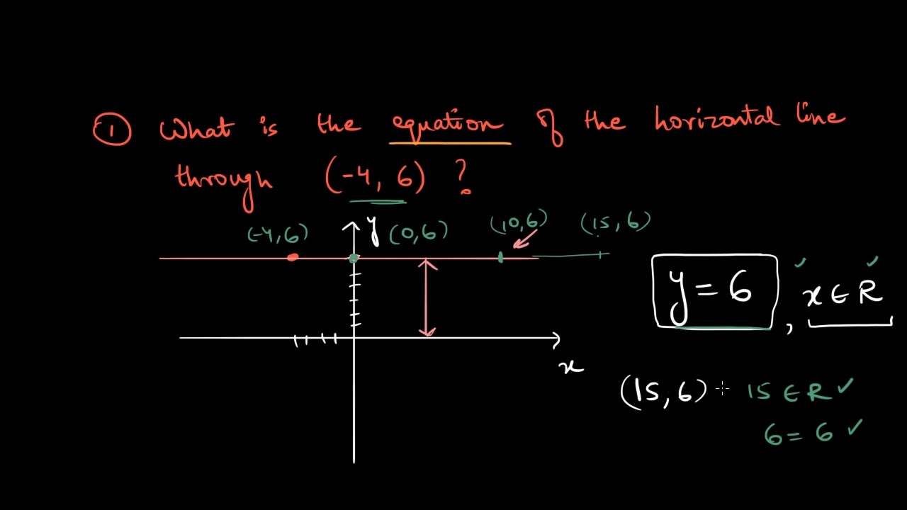 Horizontal and vertical lines (Hindi)