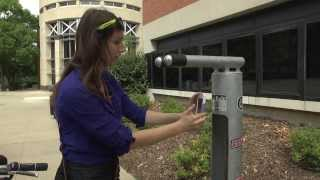 Bicycle Repair Stations on Campus