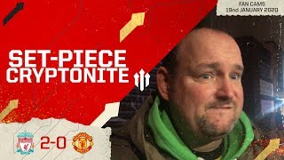 CAN'T PUSH ON WITH THIS SQUAD! Liverpool 2-0 Man United | Andy Tate Fan Cam