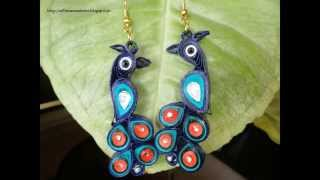 Quilling Earrings models new designs - Quilling Earrings video