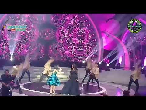 LESTI FEAT BUNDA RITA SUGIARTO - GOYAH Di konser sosial media LIDA 2018