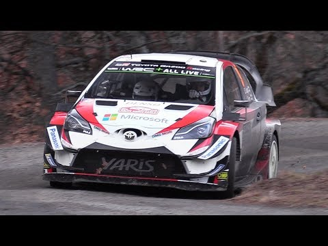 WRC 2018: Rallye Monte-Carlo - Best of Action, MAX ATTACK, Mistakes, Speed & More!