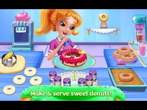 My Sweet Bakery Donut Shop Android İos Tabtale Free Game GAMEPLAY VİDEO