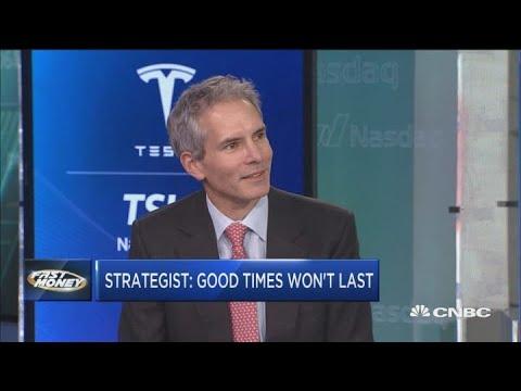 Blackstone's Joe Zidle says good times won't last