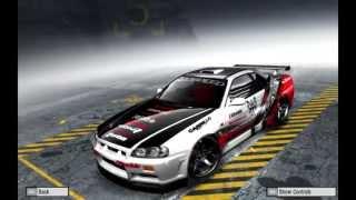 Need For Speed Pro Street  Nissan Skyline tunado