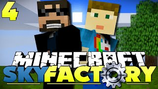 Minecraft Modded SkyFactory 4 - AUTOMATED SIEVING
