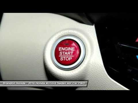2016 Honda Accord Sedan Tampa FL A019127