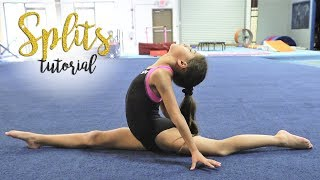 Gymnastics How To D๐ The Splits| Sariah SGG
