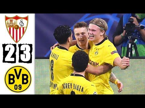 Sevilla Vs Borussia Dortmund | UCL Round Of 16 2021 #Sevilla #Dortmund #UCL
