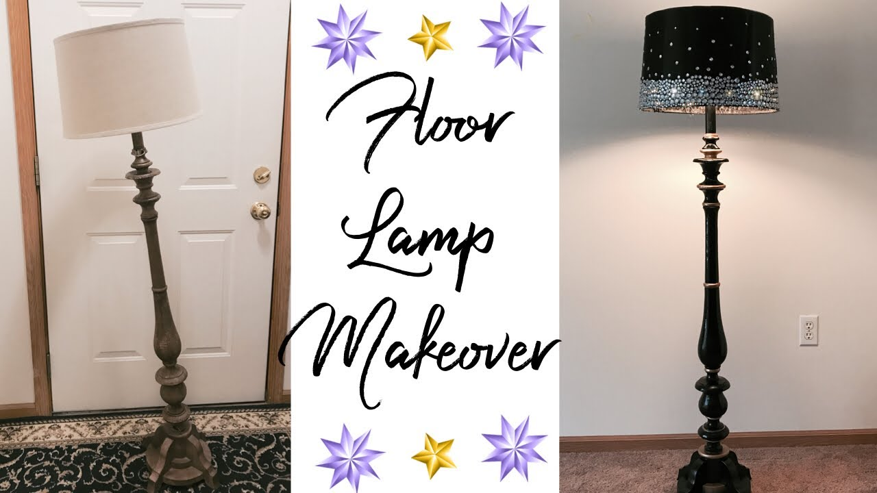 Floor Lamp Makeover Youtube