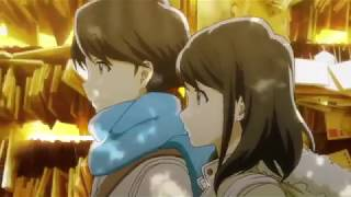 tsuki ga kirei - kiss scene