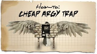How to build a cheap Argentavis trap | ARK: Survival Evolved | Building Tips Video