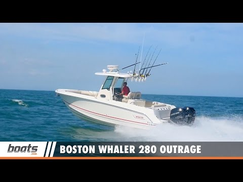 Boston Whaler 280 Outrage: Video Boat Review