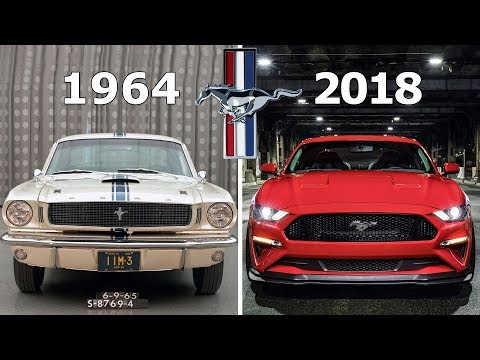 Ford Mustang Evolution: 1964 - 2018
