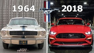 Ford Mustang Evolution: 1964 - 2018