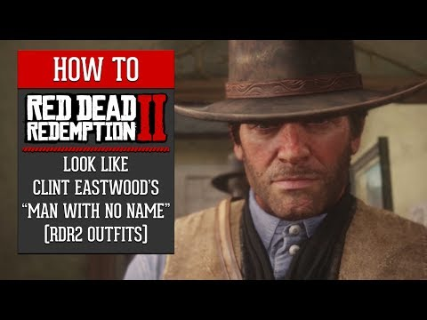 Red Dead Redemption 2  How To Look Like Clint Eastwood's