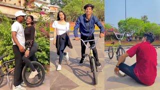BMX Riders Tiktok(Cycle Stunt Tiktok videos) Trending Tiktok (Viral Bmx Tiktok videos) (Yusufbmx)