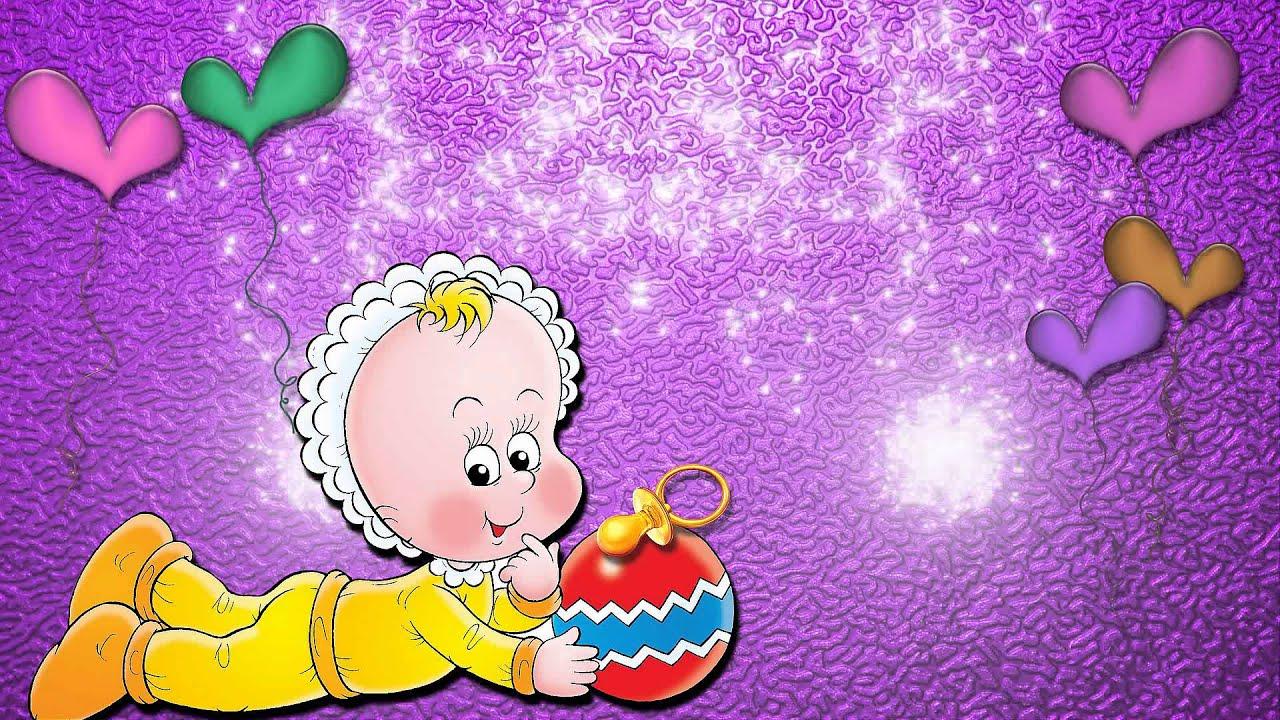 Футаж поздравление с новорожденным